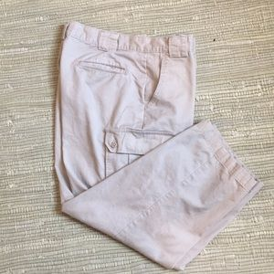 J Riggins tan cargo pants 38x32